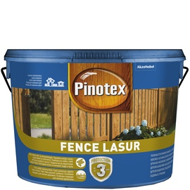 Impregnantas Pinotex Fence, palisandro spalvos, 10 l
