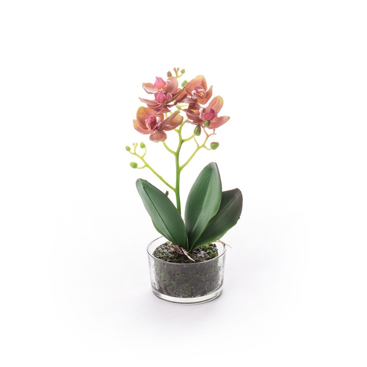 Искусственные цветы в вазоне SN Artificial Orchid Flower Pot RU-5820 30cm