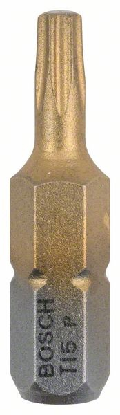 UZGALIS TORX T15, L=25MM 3 GAB,MAXGRIP (BOSCH)