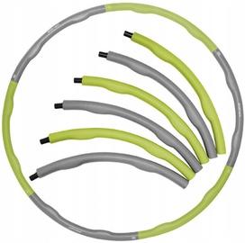 SportVida Hula Hoop Ring 100cm Grey/Green