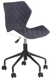 Halmar Matrix Childrens Chair White/Grey