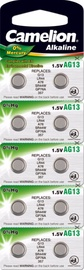 Camelion AG13 Alkaline Buttoncell Battery x 10