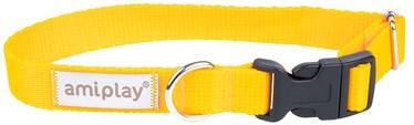 Ошейник Amiplay Samba, желтый, 350 мм