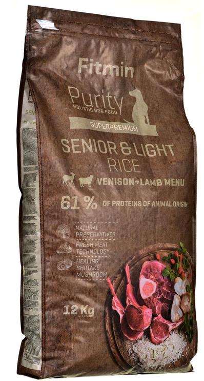 Fitmin Purity Senior & Light Venison & Lamb 12kg