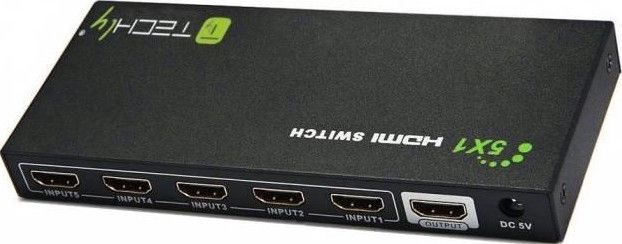 Techly 020713 HDMI Switch 5in1