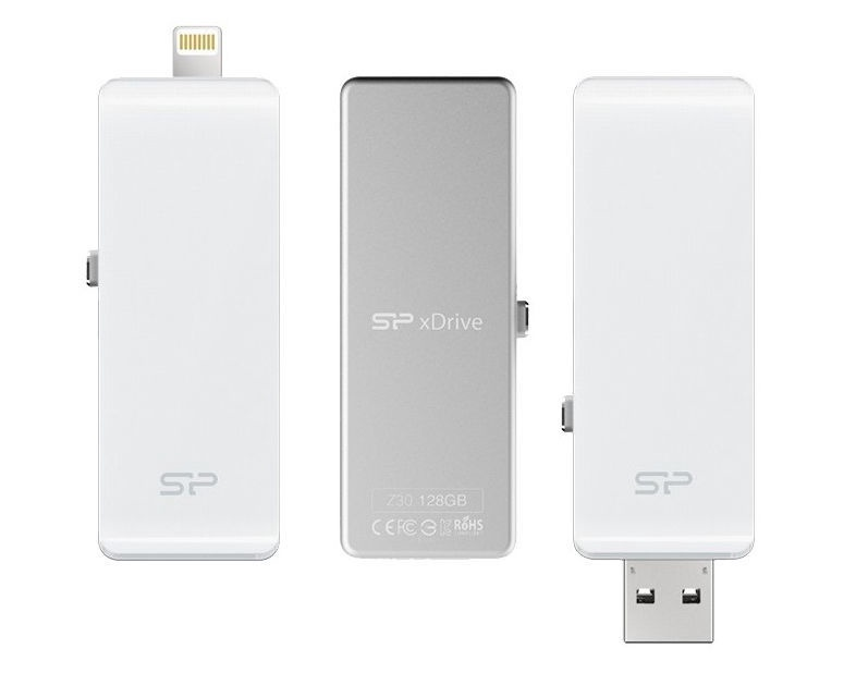 Silicon Power xDrive Z30 32GB USB-Lightning White
