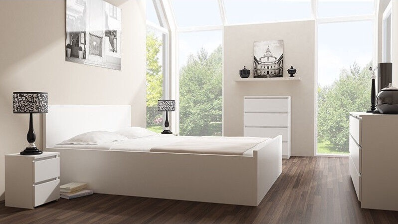 Kumode Top E Shop Malwa M5 White, 70x40x112 cm
