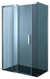 Dušas kabīne Novito ASS3, 100x80x200 cm, bez rāmja