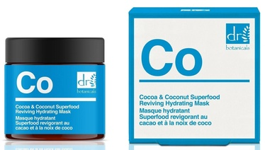 Veido kaukė Dr. Botanicals Cocoa & Coconut Superfood, 50 ml