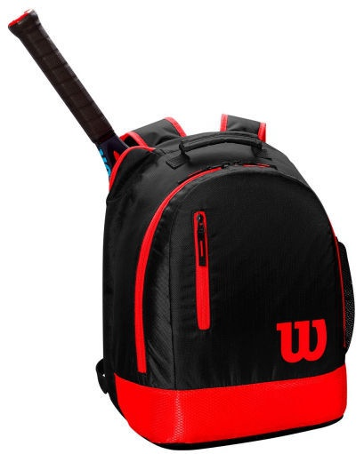 Wilson Youth Backpack Black/Red