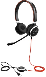 Наушники Jabra Evolve 40 Duo MS Black