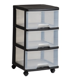 Curver Drawer System 20l Black/Transparent