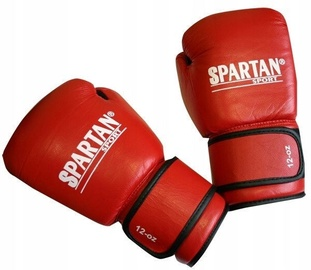 Spartan Boxing Gloves Red M