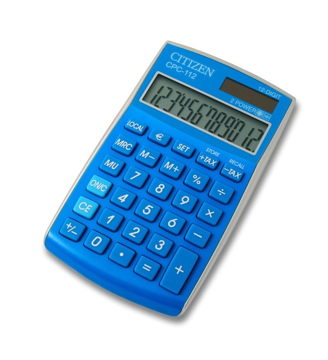 Citizen Calculator CPC 112GRWB