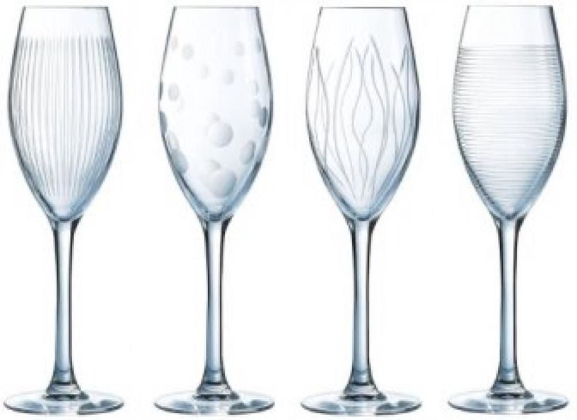 Luminarc Lounge Club Champagne Glasses 17cl 4pcs