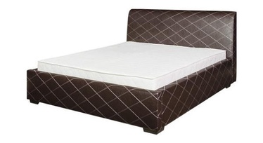 Bodzio BS73 Bed w/ Mattress 120x200 Brown