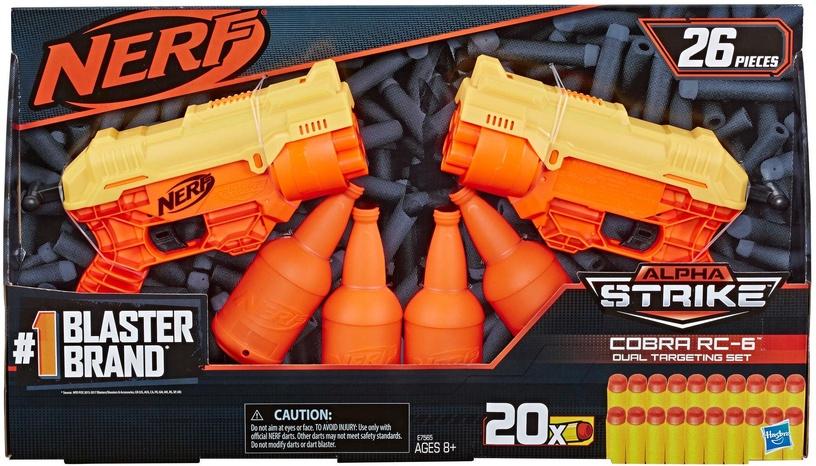 Rotaļlietu ierocis Hasbro Nerf Alpha Strike Cobra RC 6 Dual E7565
