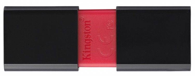 Kingston DataTraveler 106 USB 3.1 128GB Black/Red
