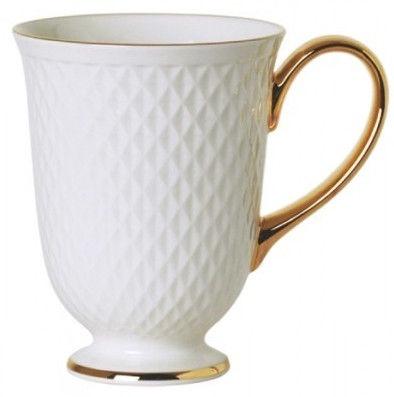 Quality Ceramic E Clat Gold Breakfast Cup 34CL
