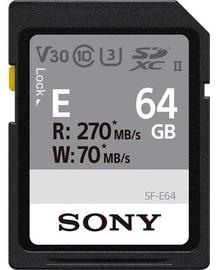 Mälukaart Sony SF-E64, 64 GB