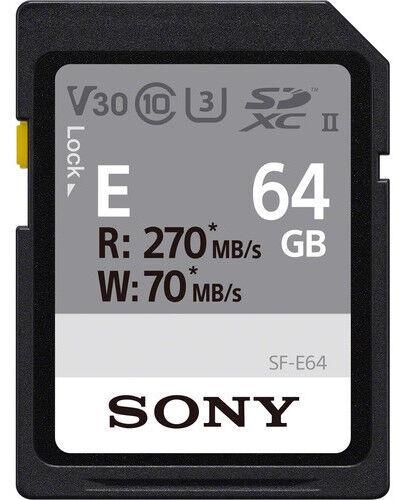 Карта памяти Sony SF-E64, 64 GB