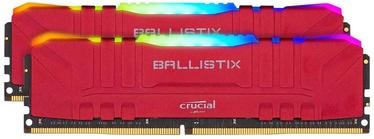 Operatīvā atmiņa (RAM) Crucial Ballistix RGB Red BL2K8G36C16U4RL DDR4 16 GB