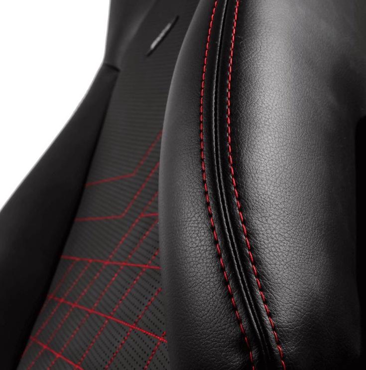 Žaidimų kėdė Noblechairs Gaming Chair ICON Black/Red