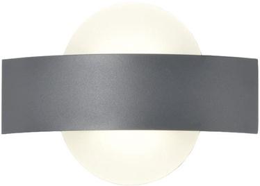 Light Prestige Faeto Wall Lamp 6W LED Round Gray