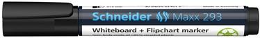 Baltās tāfeles marķieris Schneider 129301, melna
