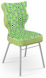 Детский стул Entelo Solo Size 5 ST29, зеленый/серый, 390 мм x 850 мм