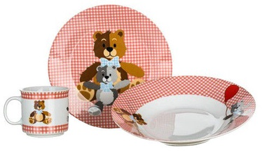 Banquet Teddy Bear Childrens Dinner Set