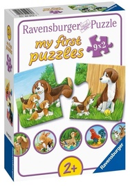 Puzle Ravensburger My First Farm Animals 05072, 9x2 gab.