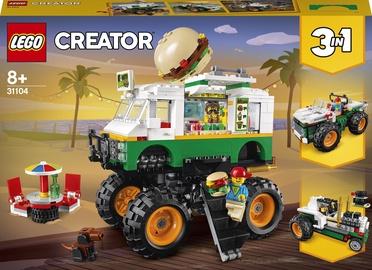 Конструктор LEGO Creator Грузовик «Монстрбургер» 31104, 499 шт.