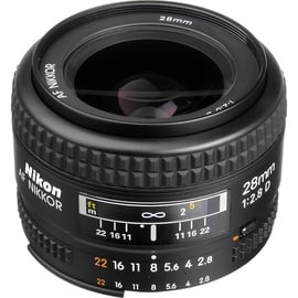 Nikon AF Nikkor 28mm f/2.8 D