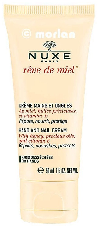 Rankų kremas Nuxe Reve de Miel Hand And Nail, 50 ml
