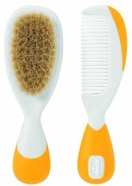 Chicco Safe Hygiene Brush And Comb Orange 65690