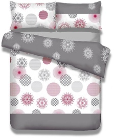 AmeliaHome Snuggy Flakes Bedding Set 135x200 2pcs/80x80 2pcs