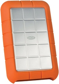 LaCie 1TB Rugged Triple 2.5'' USB 3.0 FireWire Shock Resistant