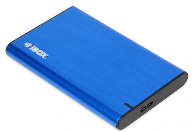 iBOX HD-05 Enclosure For HDD 2.5inch Blue