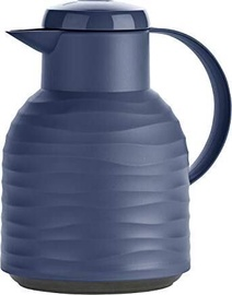 Emsa Samba Vacuum Jug Quick Press 1l Blue