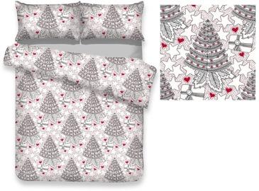 Gultas veļas komplekts AmeliaHome Snuggy, daudzkrāsains, 200x220/80x80 cm