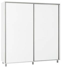 Skapis Bodzio SZP200 White, 200x60x210 cm