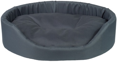 Amiplay Basic Oval Bedding XXL 86x76x17.5cm Graphite