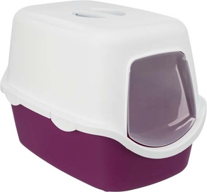 Miskaste Trixie Vico, balta/violeta, iekštelpu, 400x400x560 mm