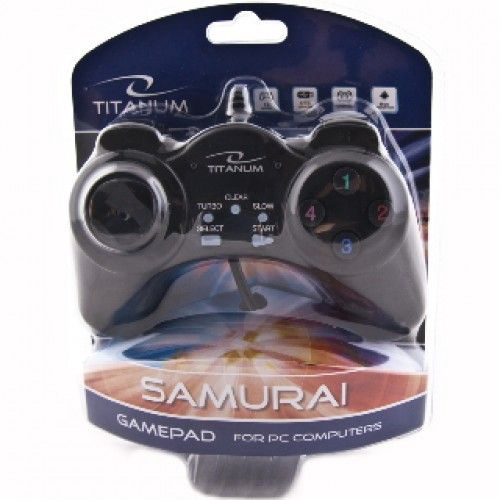 Esperanza Gamepad to PC Titanum TG105 Samurai USB