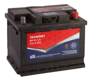 AD Baltic 563400061 Starter Battery 63Ah