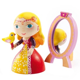 Djeco Arty Toys Princess Nina And Mirror Set