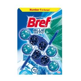 Pakabinamas tualeto muiliukas Bref Blue Aktiv, 2 x 50 g