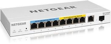 Tinklo šakotuvas Netgear GS110TUP