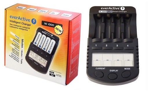 EverActive NC-1000 PLUS Battery Charger